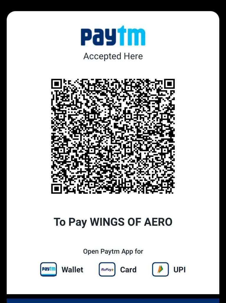 Support WINGS OF AERO QR code