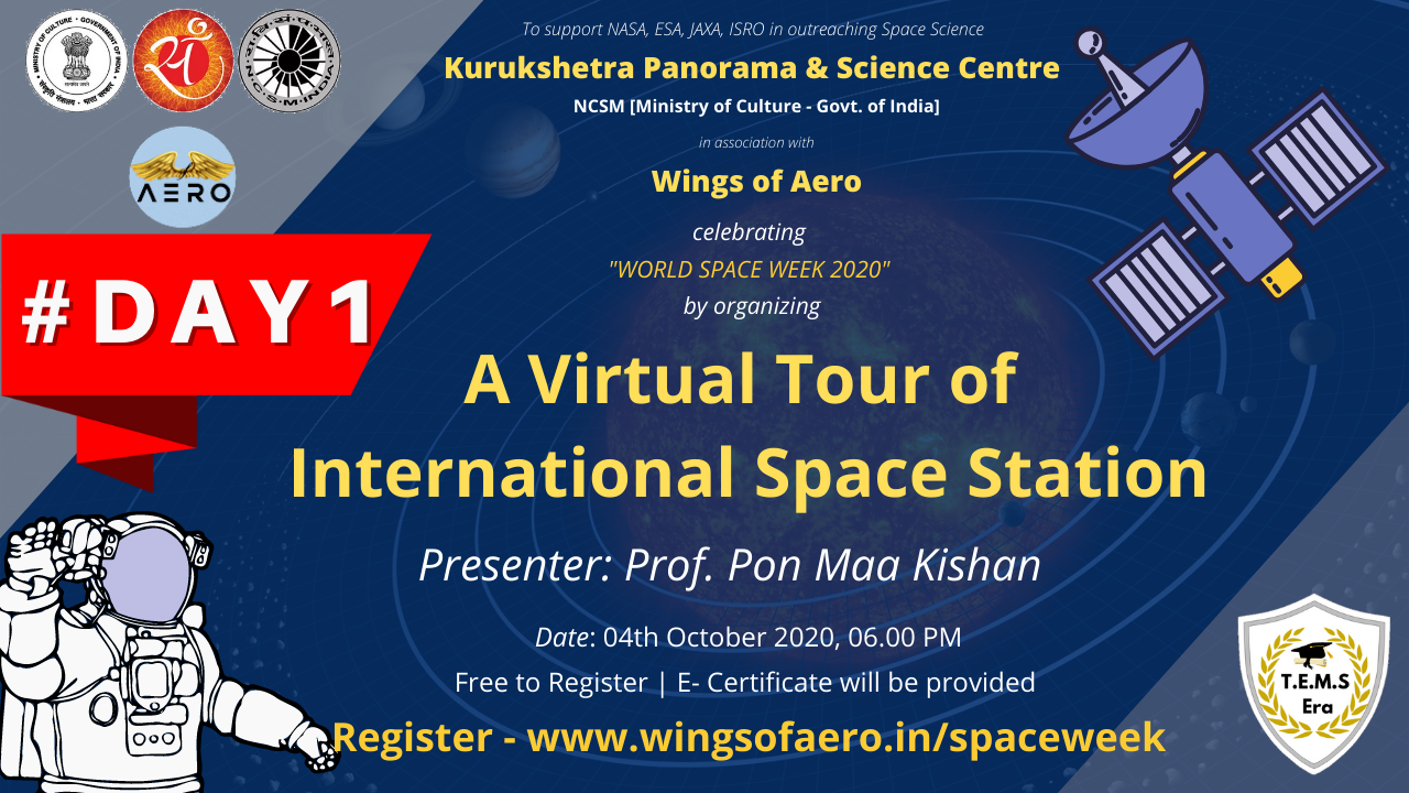 A virtual tour of International Space Station
